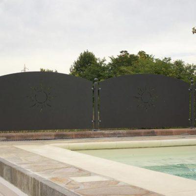 cancello in ferro battuto Brescia, Agroservice